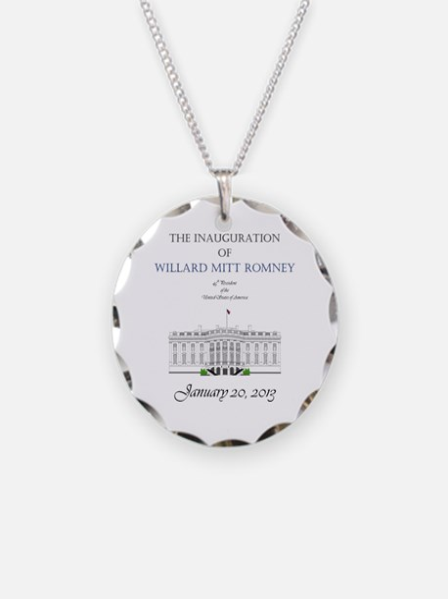 Inauguration of Willard Mitt Romney 2013 Necklace