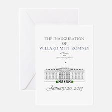 Inauguration of Willard Mitt Romney 2013 Greeting