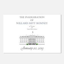 Inauguration of Willard Mitt Romney 2013 Postcards