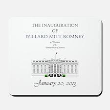 Inauguration of Willard Mitt Romney 2013 Mousepad