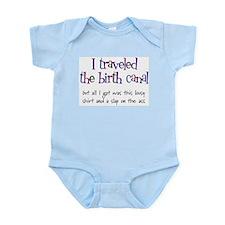 Traveled Birth Canal Infant Creeper