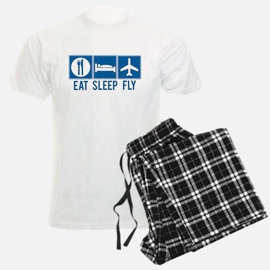 Eat Sleep Fly Men's Pajamas
