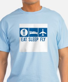 Eat Sleep Fly Mens Shirt