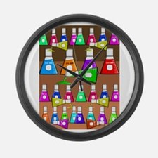 FF chemist 6.PNG Large Wall Clock
