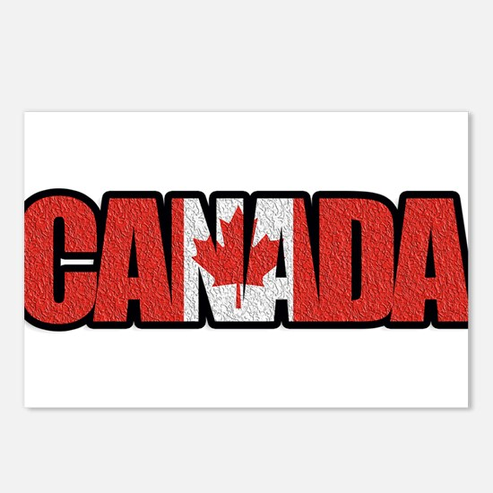 Canada Word Postcards (Package of 8)