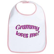 Grammy love Me! Bib