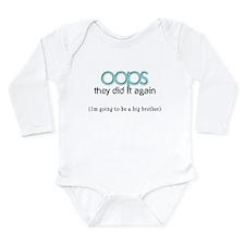 Unique Oops i did it again Long Sleeve Infant Bodysuit