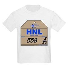 HNL - Honolulu, Hawaii Airport Code Kids T-Shirt