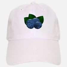 Blueberry Baseball Baseball Cap