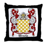 Wczele Coat of Arms Throw Pillow