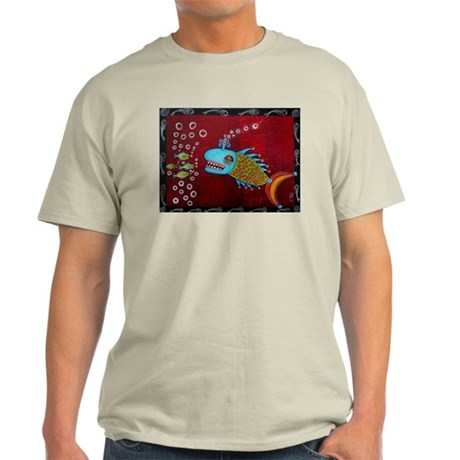 Cool Whale Fish Light T-Shirt