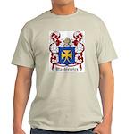 Waskiewicz Coat of Arms Ash Grey T-Shirt