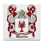 Warnia Coat of Arms Tile Coaster