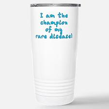 Rare disease champion - Stainless Steel Travel Mug