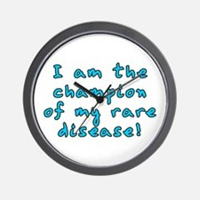 Rare disease champion - Wall Clock