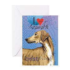 Azawakh Greeting Card