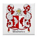 Wadwicz Coat of Arms Tile Coaster