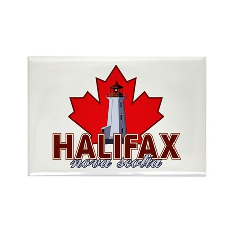 Halifax Lighthouse Rectangle Magnet