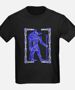 Blue and White Anubis T