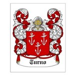 Turno Coat of Arms Small Poster