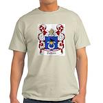 Tuhan Coat of Arms Ash Grey T-Shirt