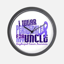 I Wear Periwinkle 6.4 Esophageal Cancer Wall Clock