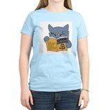 Cats and books Women's Light T-Shirt