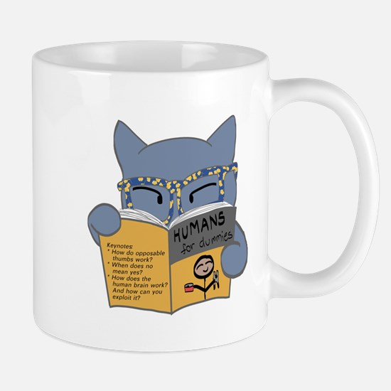 """Humans for Dummies"" Mug"