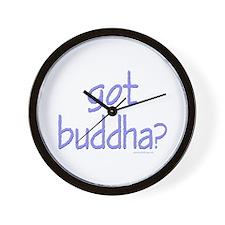 Got Buddha? Wall Clock