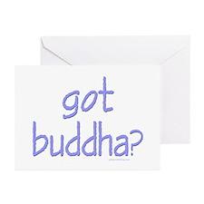 Got Buddha? Greeting Cards (Pk of 10)