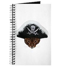 Pirate Bengal Cat Journal