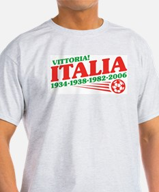 Italy - World Champs Ash Grey T-Shirt