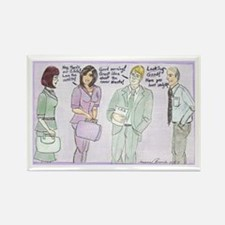 The Brown Nosers Rectangle Magnet (10 pack)