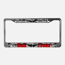 Black Powder Plate Frame