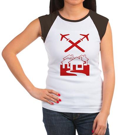 Chem-Trail Women's Cap Sleeve T-Shirt