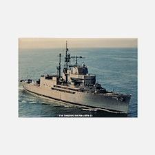 USS NORTON SOUND Rectangle Magnet