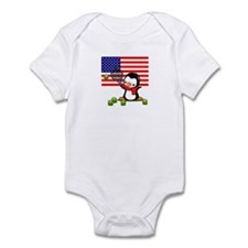 Tennis Popo Infant Bodysuit