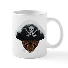 Pirate Bengal Cat Mug