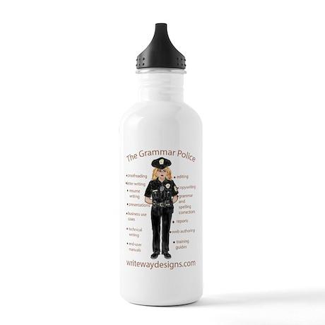Grammar Police Stainless Water Bottle 1.0L