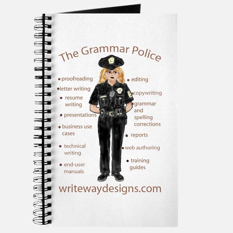 Grammar Police Journal