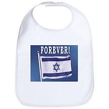 Israel Flag Forever Bib