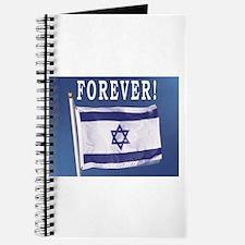 Israel Flag Forever Journal