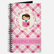 Mr Darcy Jane Austen Reading Notes Journal