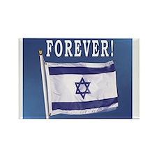 Israel Flag Forever Rectangle Magnet