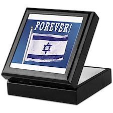 Israel Flag Forever Keepsake Box