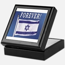 Israel Flag Forever Keepsake Box
