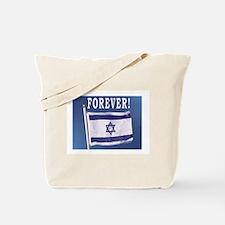 Israel Flag Forever Tote Bag