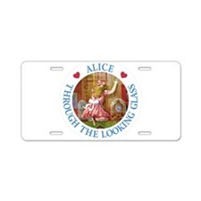 Alice Through The Looking Glass Aluminum License P