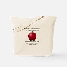Fruit of the Spirit - Apple Tote Bag