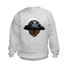 Pirate Bengal Cat Sweatshirt